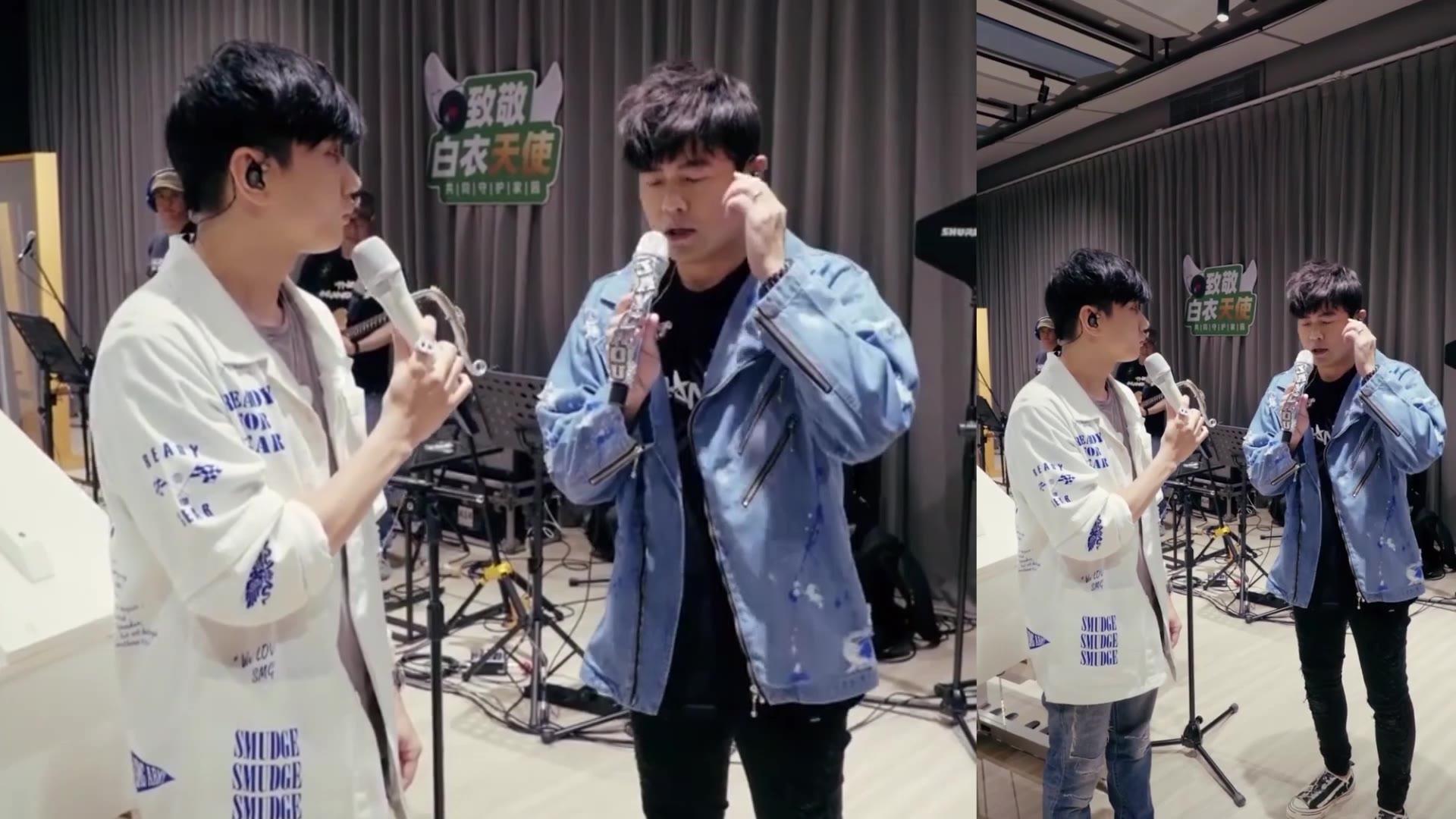 周杰伦和林俊杰这个视频火了!林俊杰的唱功讲解!