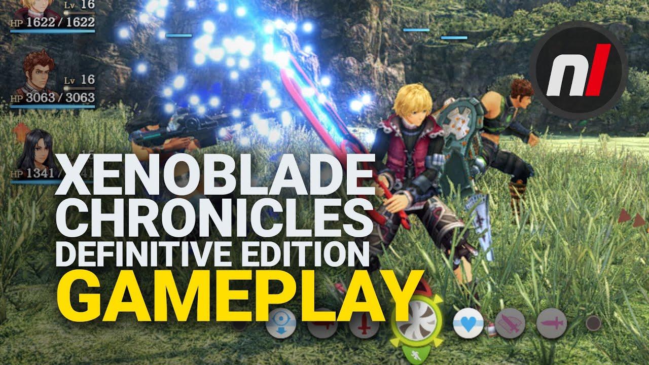 《异度神剑:终极版》实机游玩录像