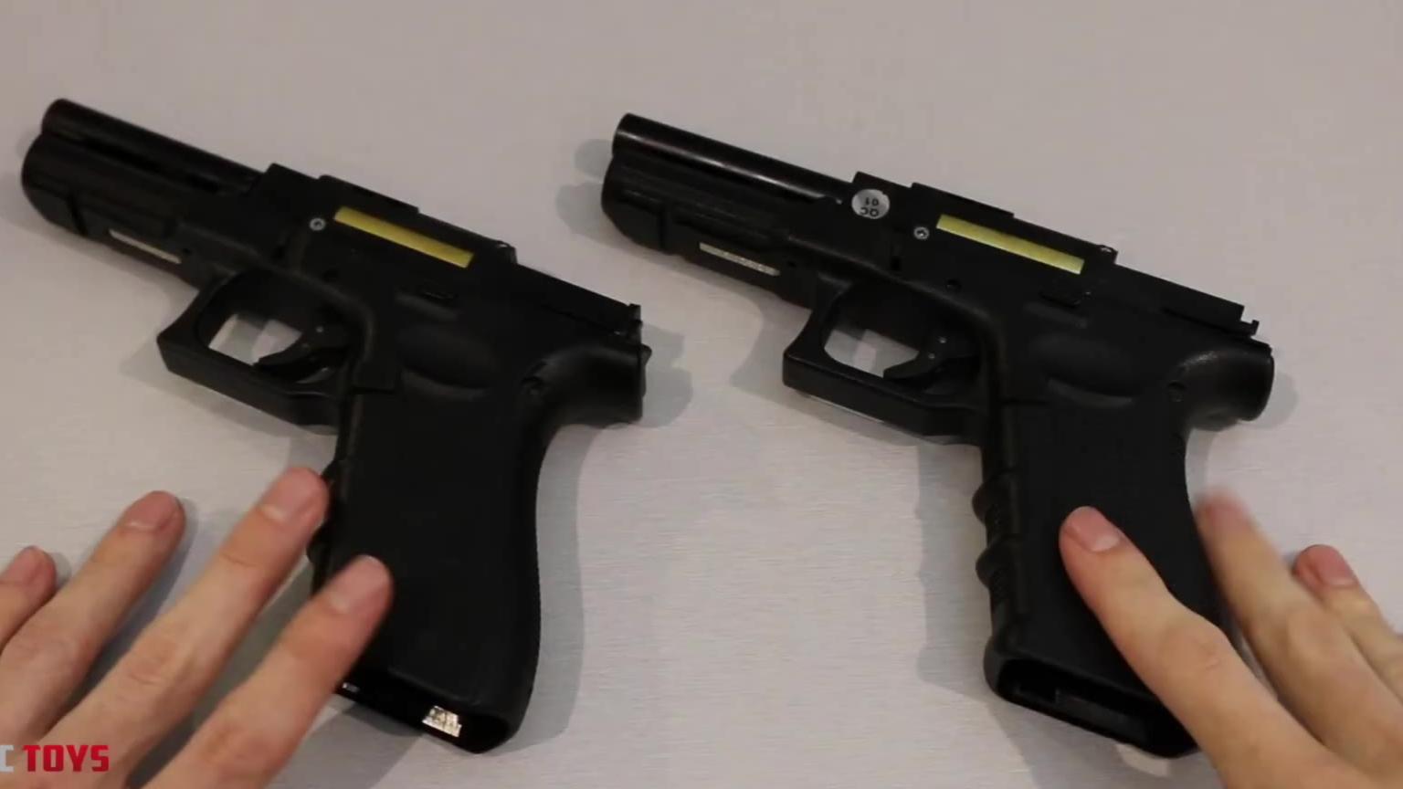 【中字】3DG glock17 土澳版和国内版拆解对比