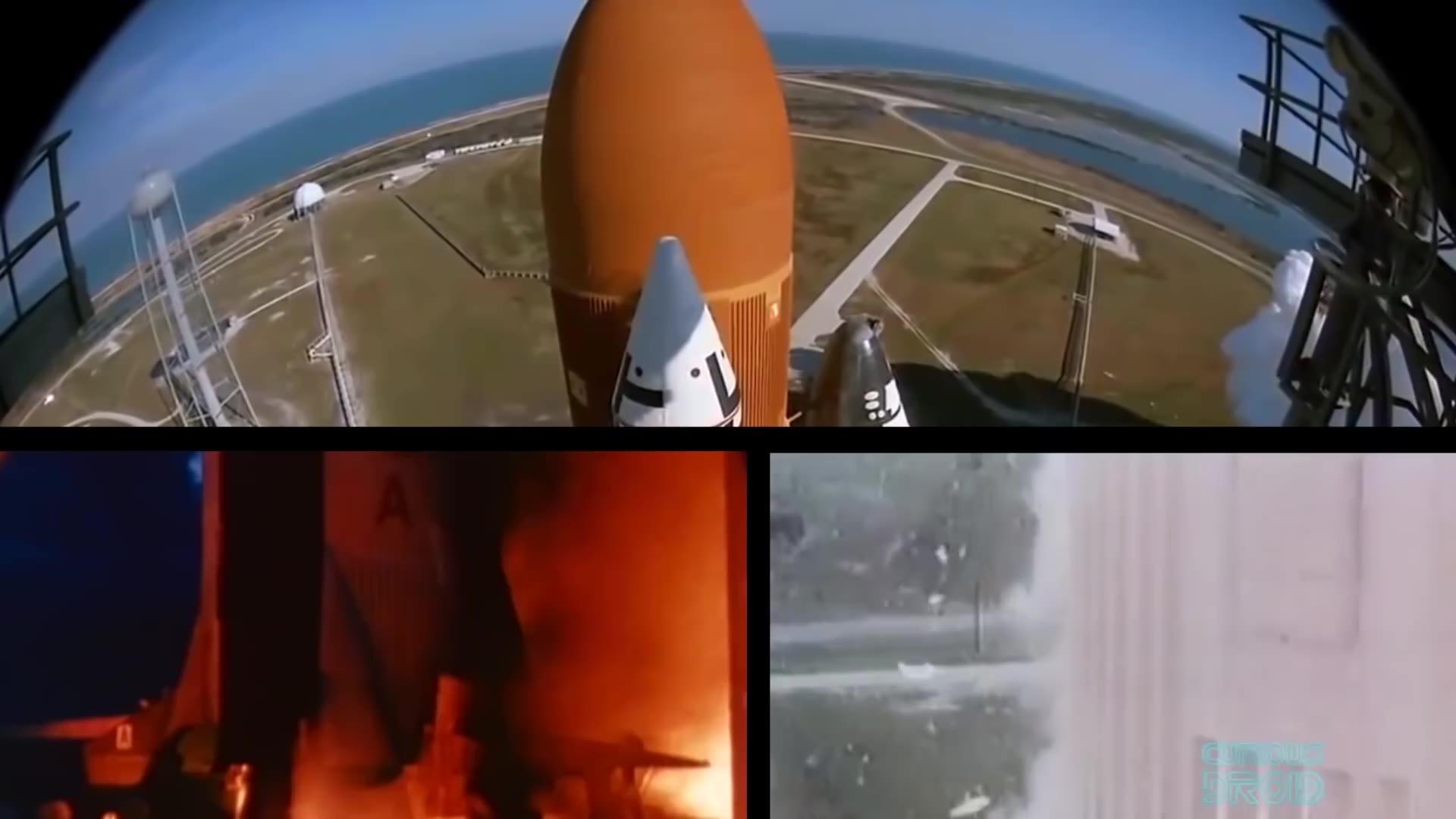 (生肉)NASA是怎样拍摄这些登月计划和航天飞机的镜头的?