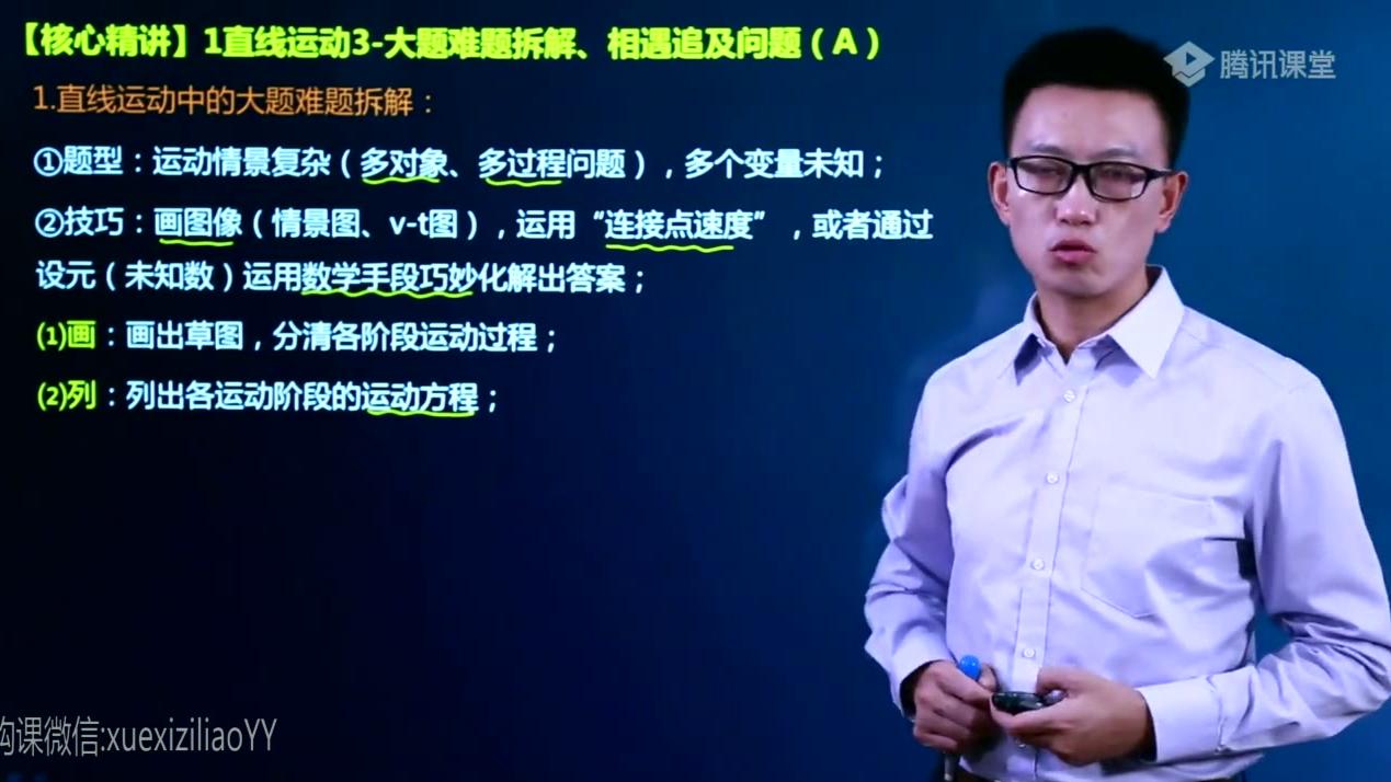 2020坤哥物理一轮网课冲刺