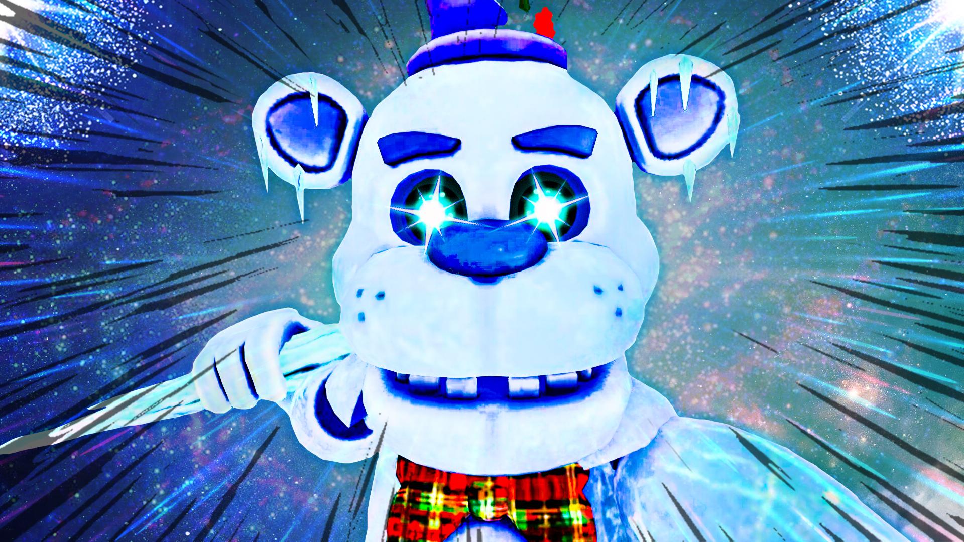 玩具熊全明星打卡:夜间警卫被寒冰弗莱迪的冰尖刀宰割 极栗解说