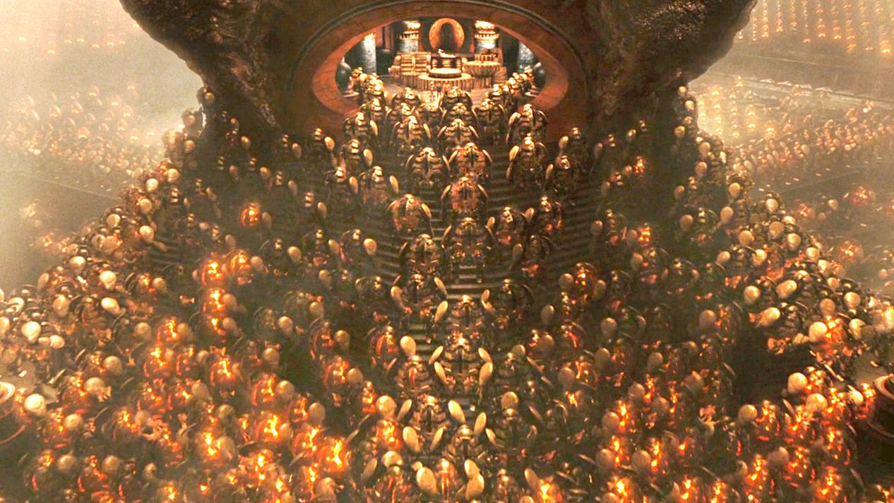 地下沉睡着4900个黄金战士,一旦被唤醒,人类就会被毁灭!速看奇幻电影《地狱男爵2:黄金军团》