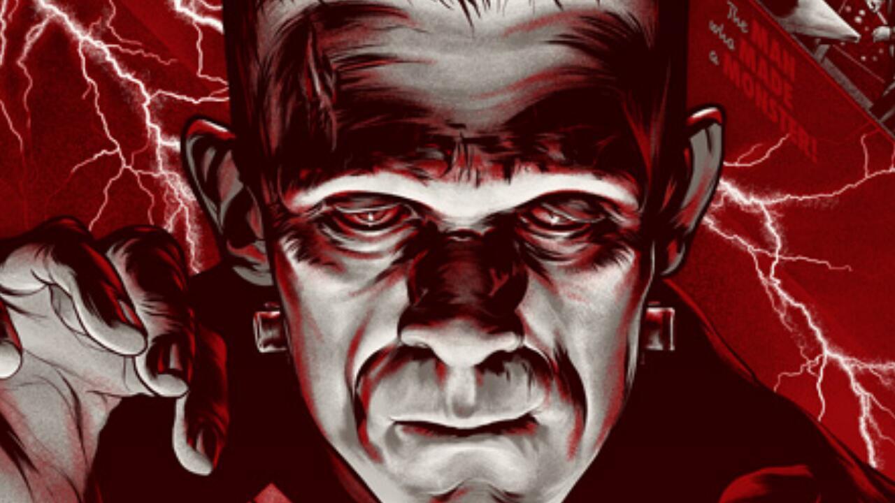 【奥雷】影史上的经典科幻恐怖片!疯狂科学家以尸体碎块来创造新的物种!《科学怪人》
