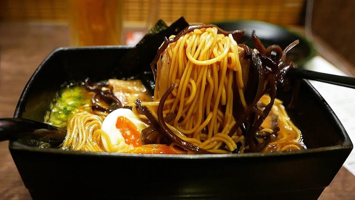 【日本美食】一元面是世界上最好的拉面!日本福冈県