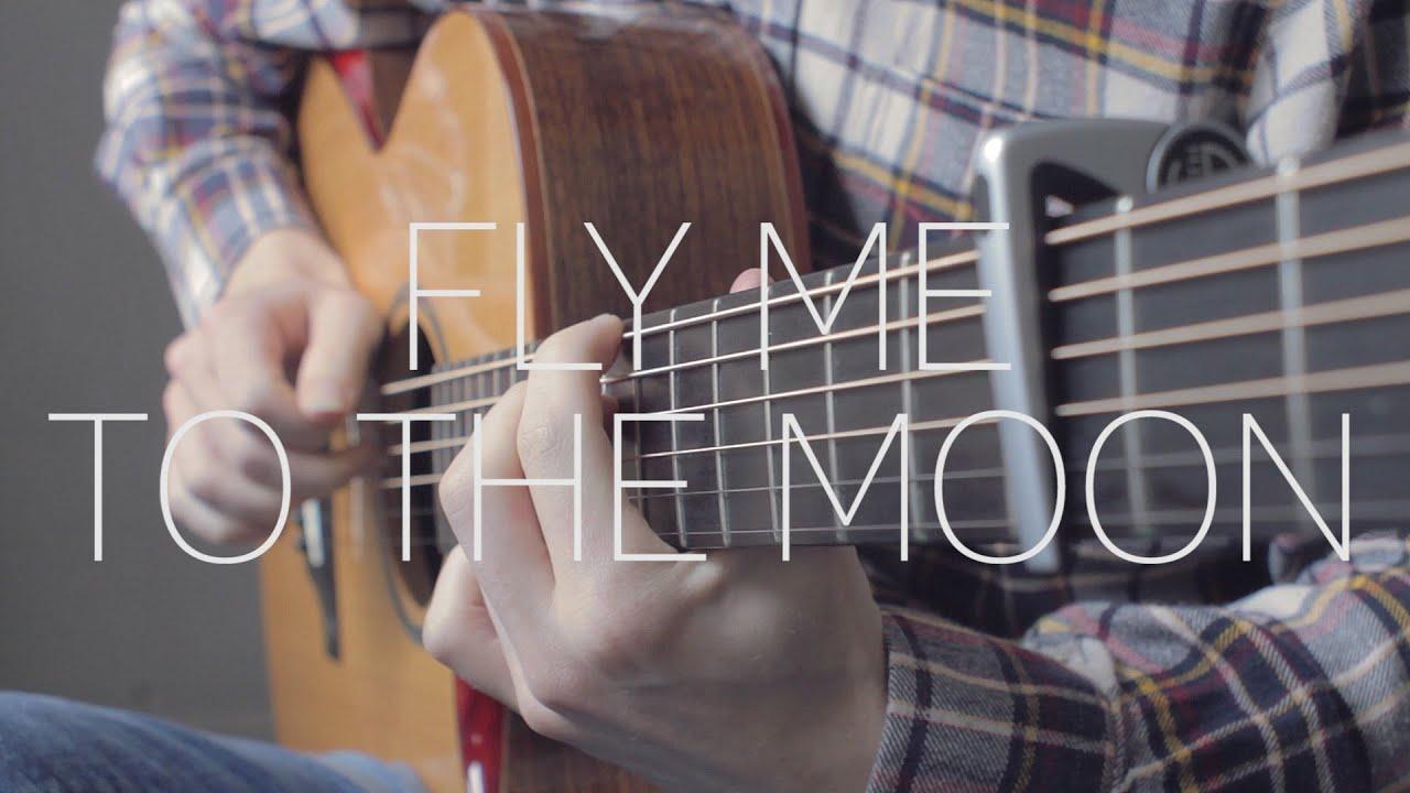 【指弹改编】Fly Me To The Moon Cover by James Bartholome