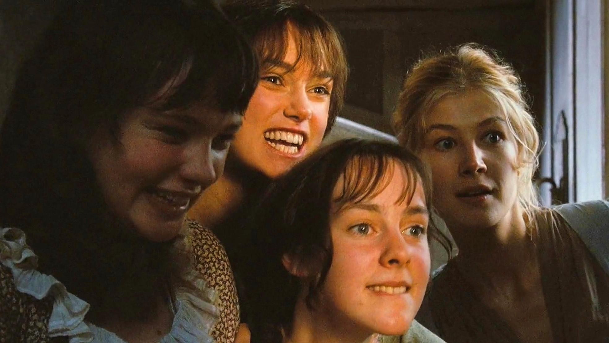 五姐妹盼来隔壁老王个个心猿意马《傲慢与偏见》