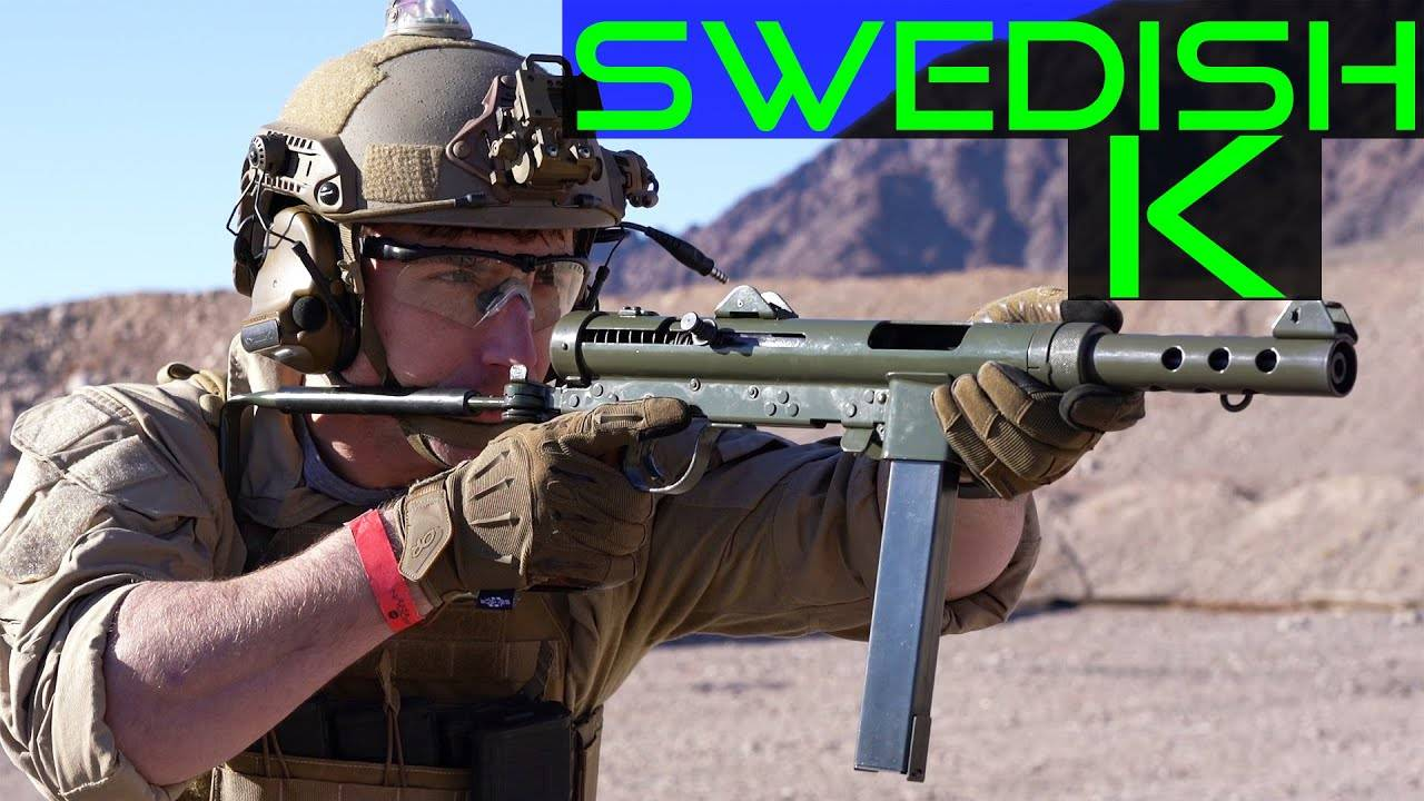 中文字幕【Garand Thumb】Swedish K Carl Gustaf M45 测评