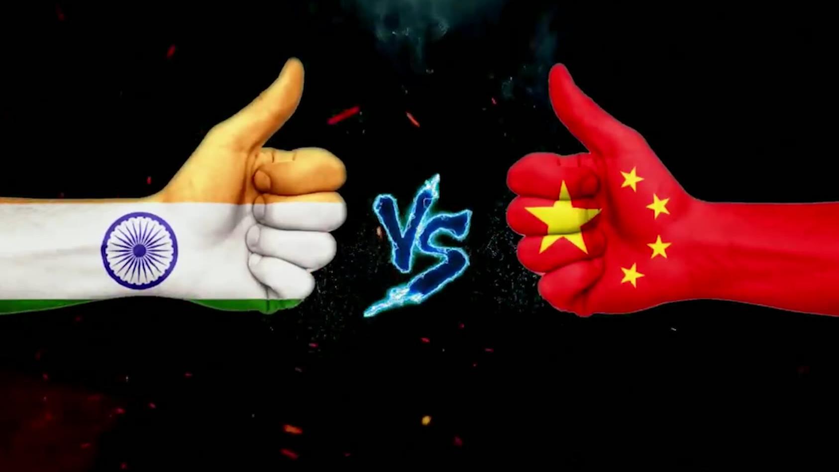 歪果仁制作2020中印军力比较 外国网友:印度炮兵是世界第二炮兵!