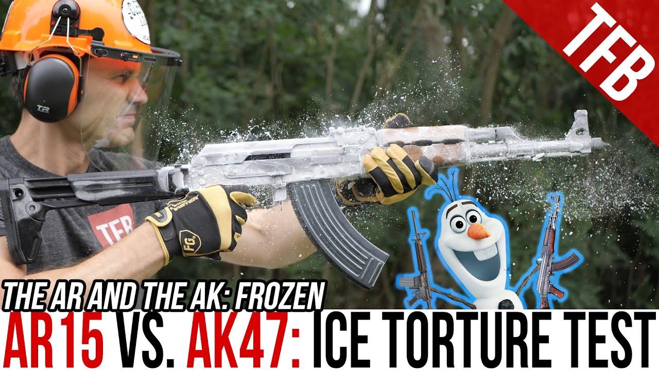 【中字】【TFBTV】ARvsAK:零下冷冻对比测试