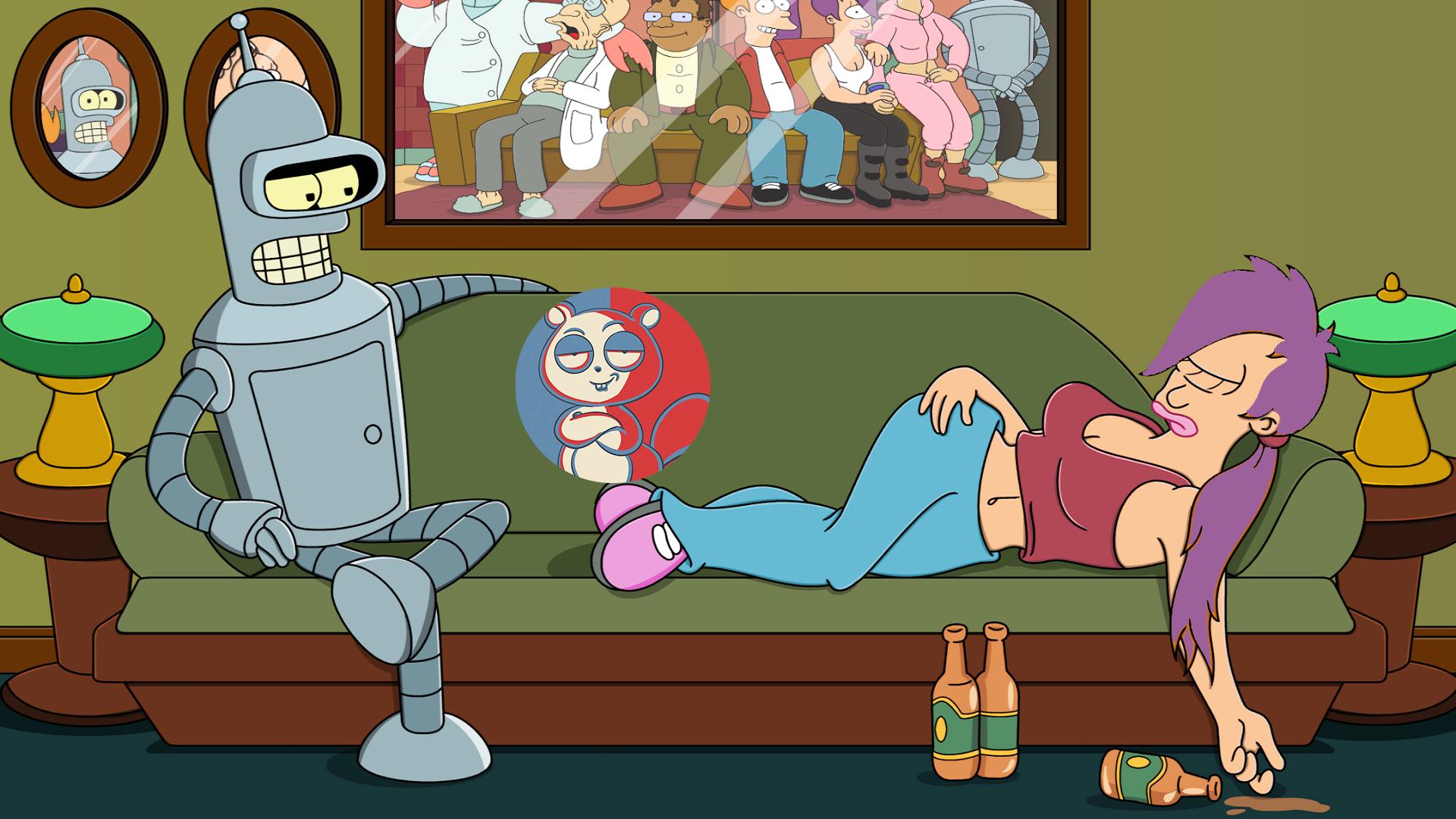 【飞鼠】31世纪的机器人,他的快乐你想象不到!《飞出个未来》之情感互通