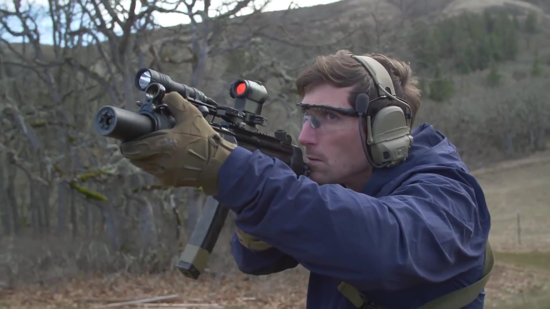 MP5SD 试用射击