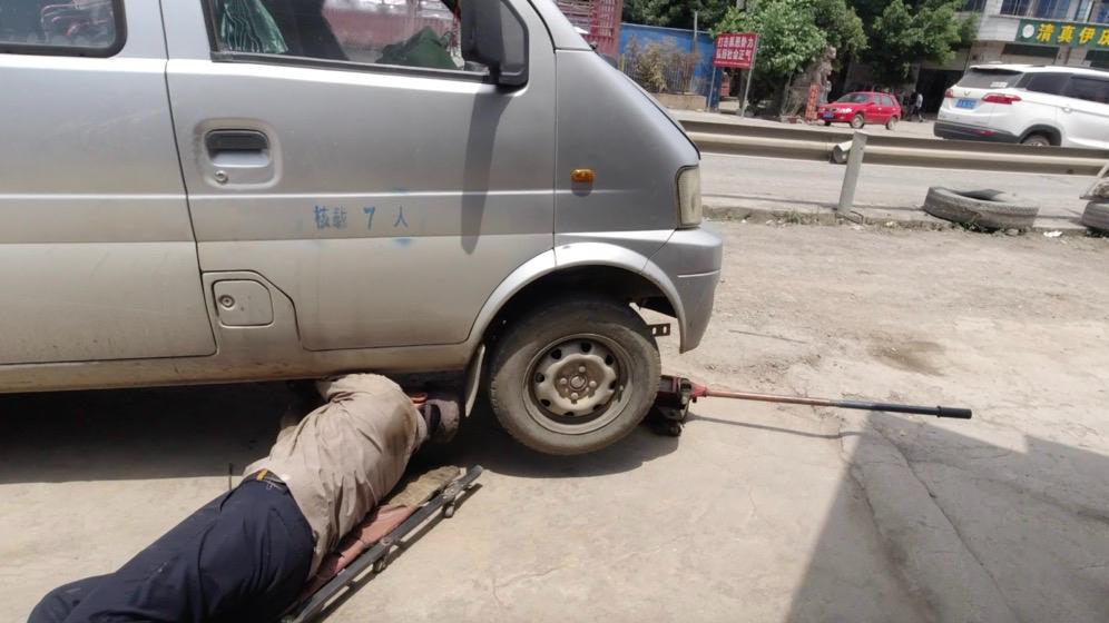 【苏森】面包车旅行西藏,在云南车挂不了档,还被交警查了