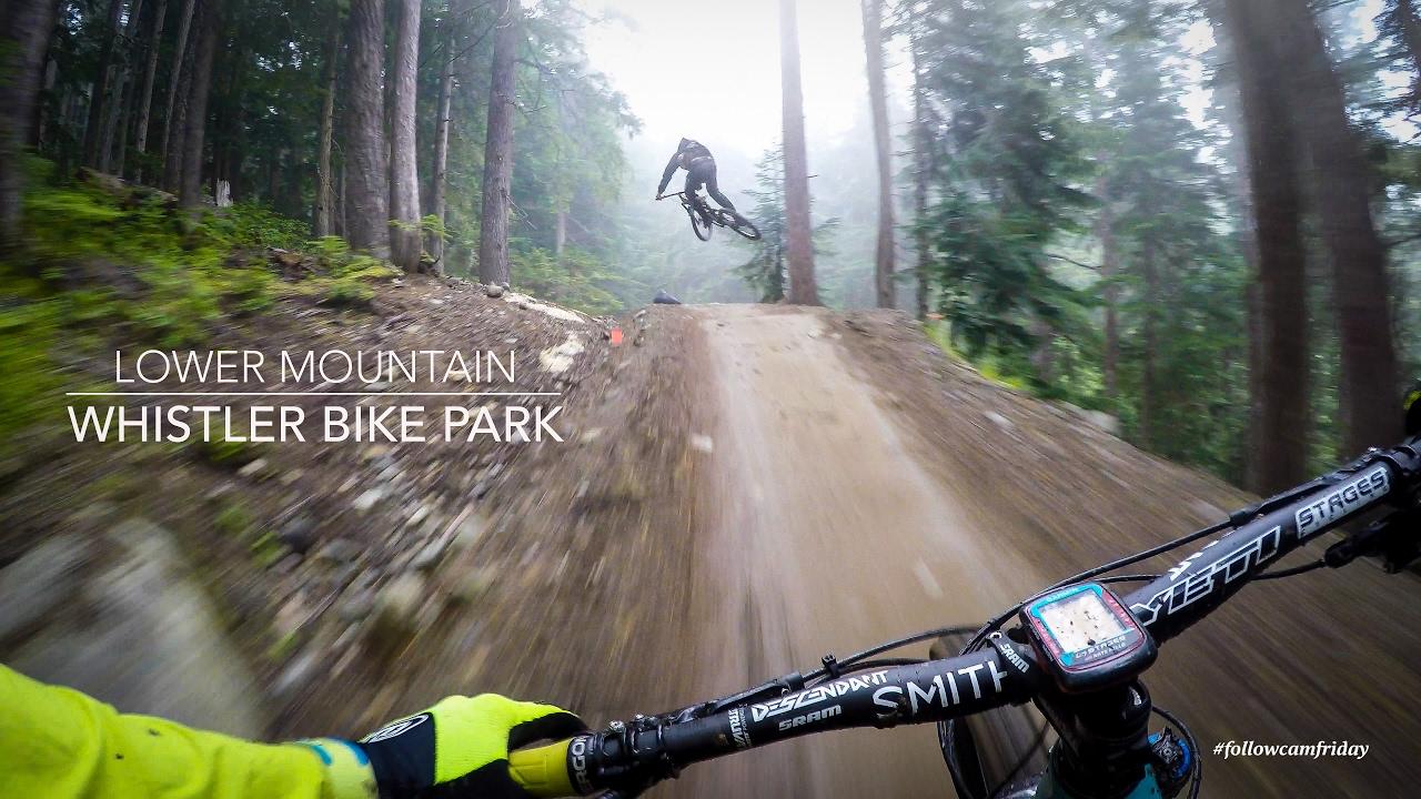 【极限运动】下惠斯勒自行车公园山地自行车赛
