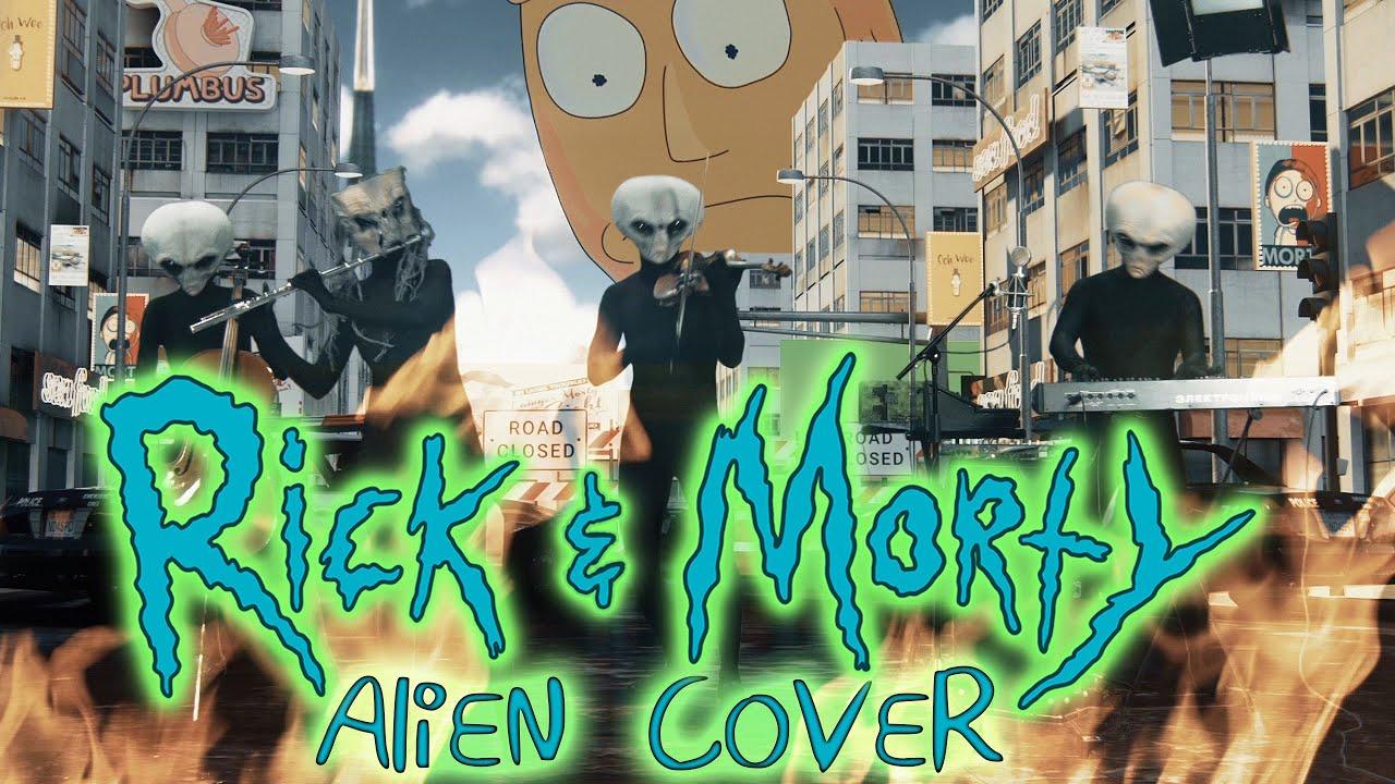 【瑞克和莫蒂】人形歌剧表演:瑞克和莫蒂主题曲
