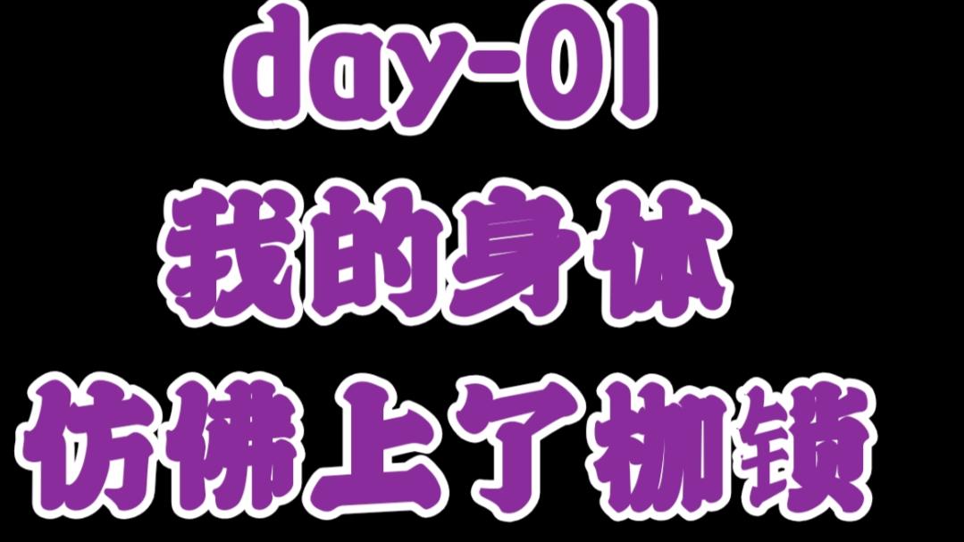 365健身计划-day01