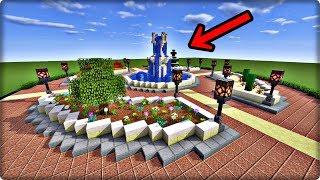 【Minecraft】【ふわパリ伯爵】喷泉广场