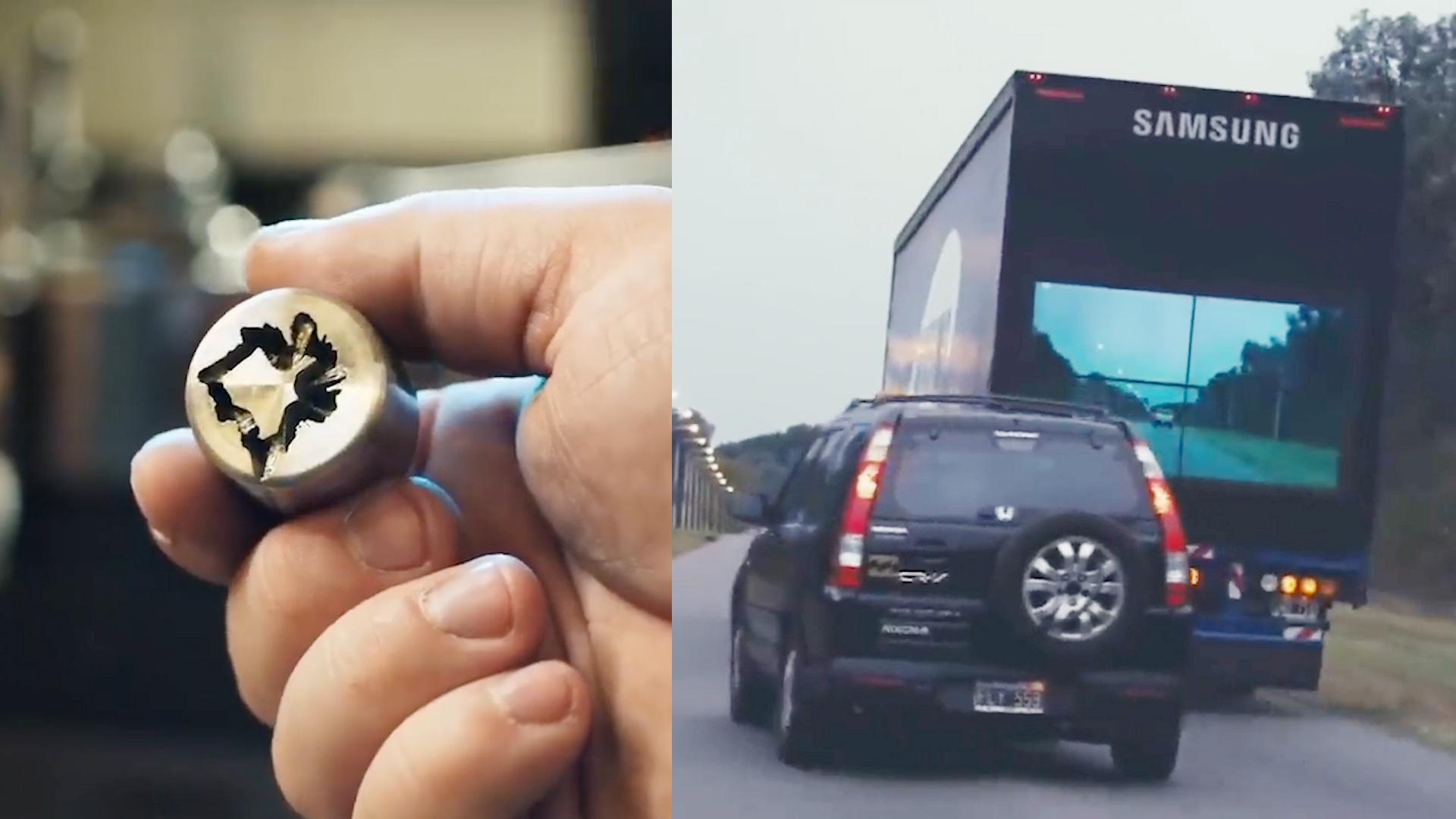 3种最有用的汽车发明,第2种防止偷车胎,第3种能一眼看穿卡车