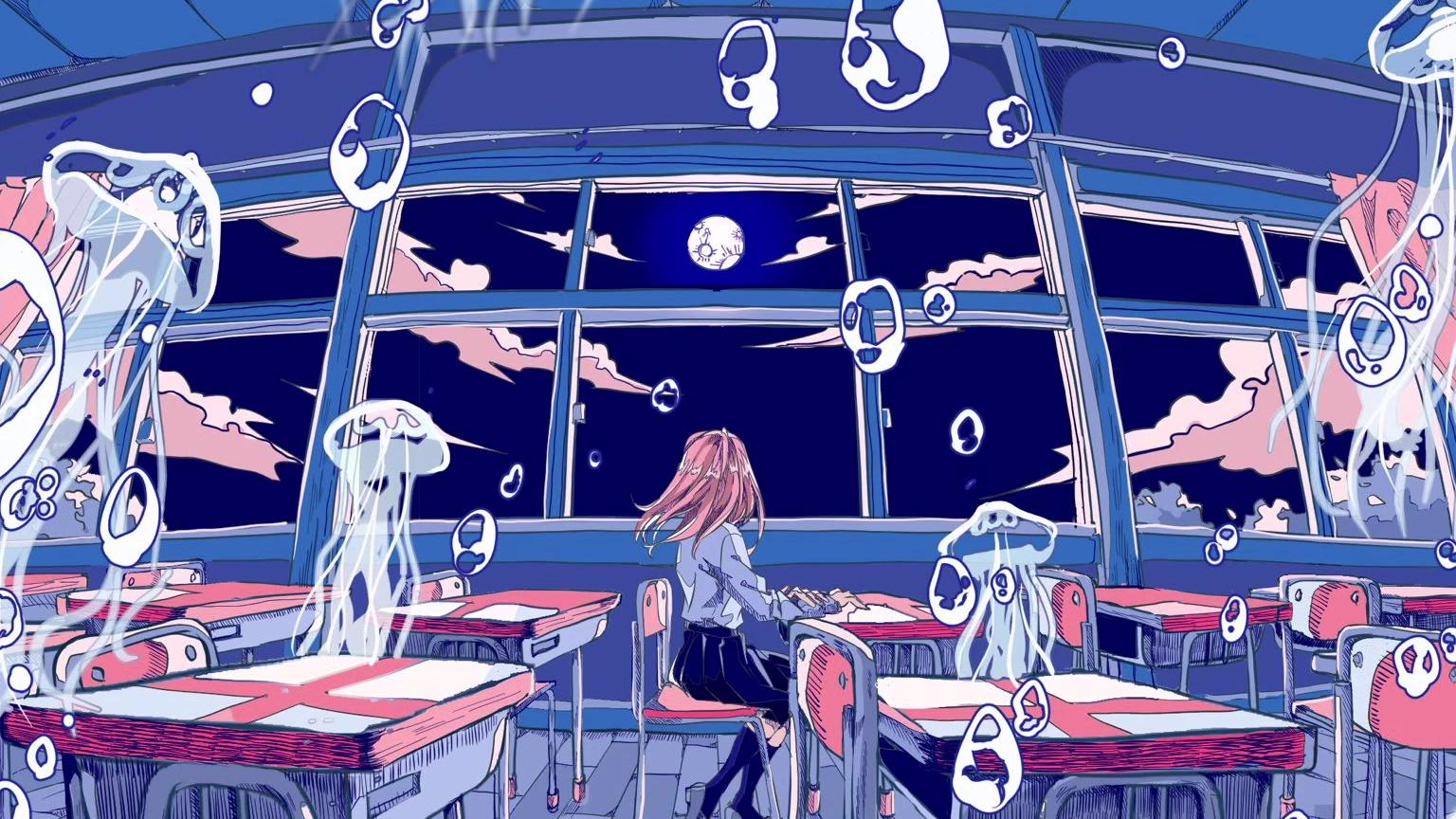 空ノ月、海ノ月 feat.初音ミクDark【 ツカダタカシゲ】