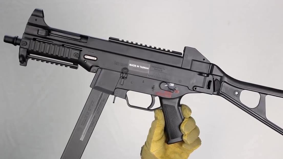【壕堺大叔】日本发售的HK授权版ump45发射器