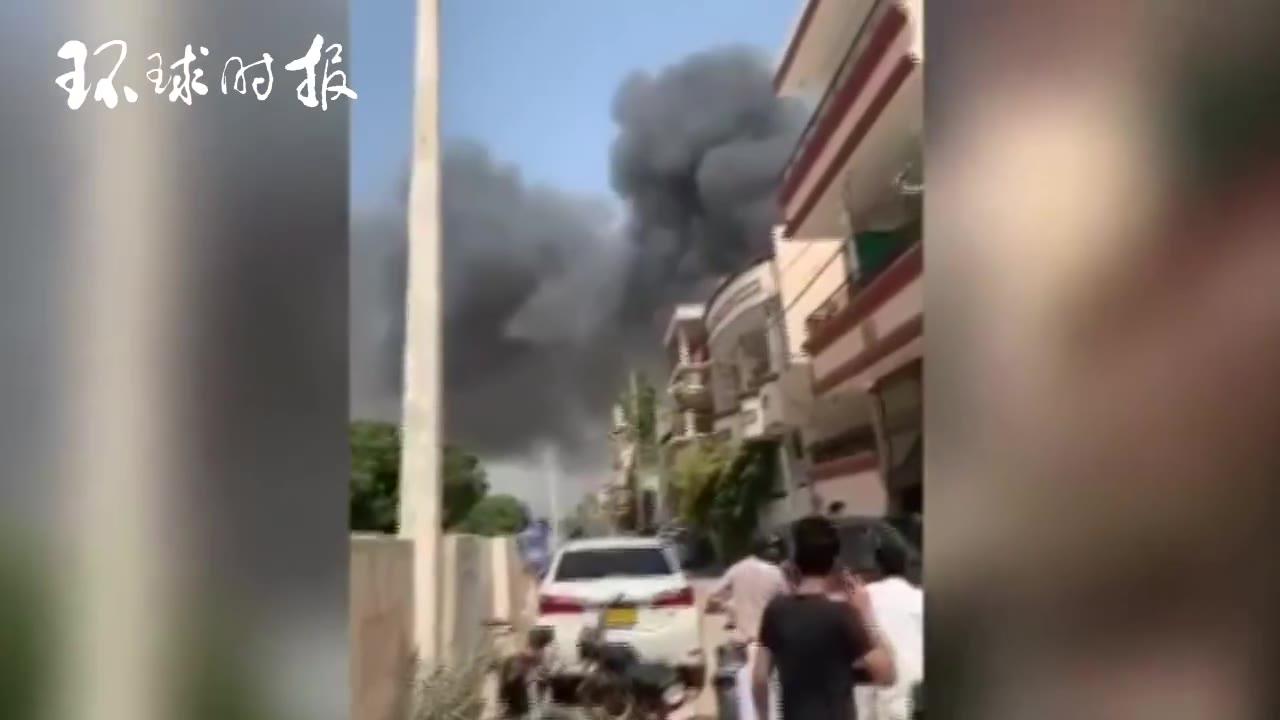巴基斯坦一架客机坠毁 机上至少90人