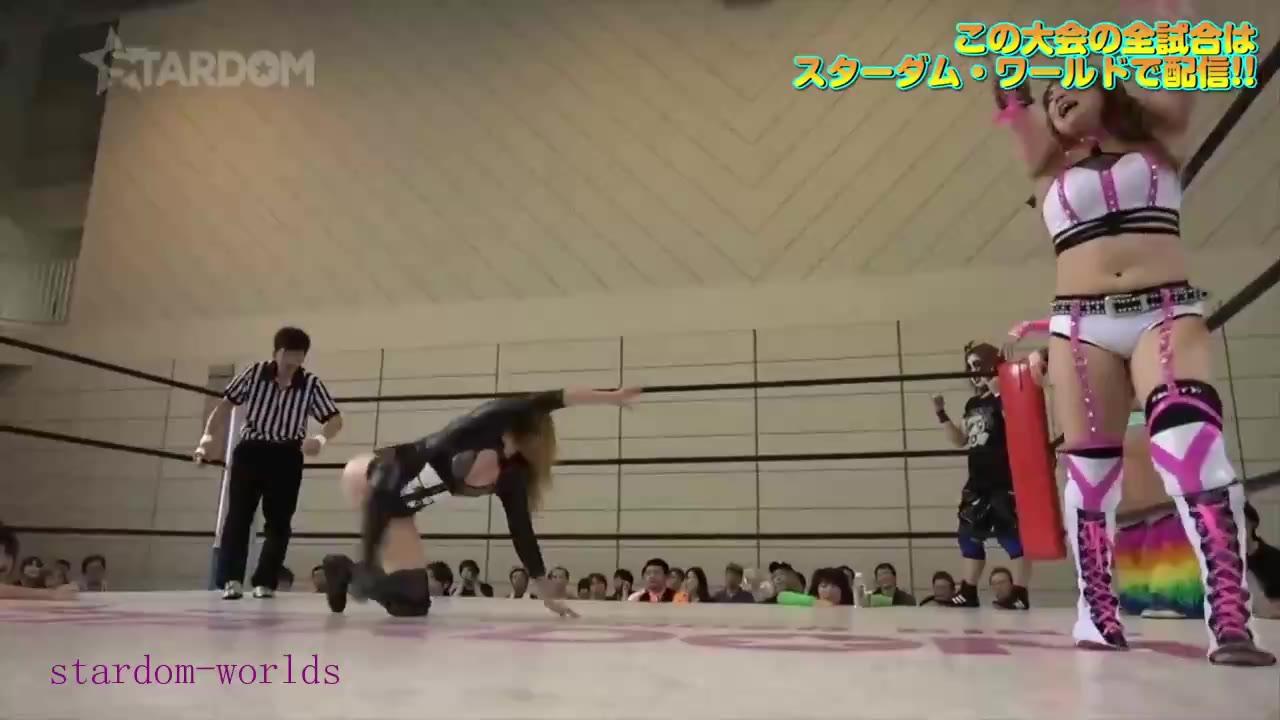 日本女子摔角Stardom-2019.7.27 大江戸隊 vs トーキョー・サイバー・スクワッド