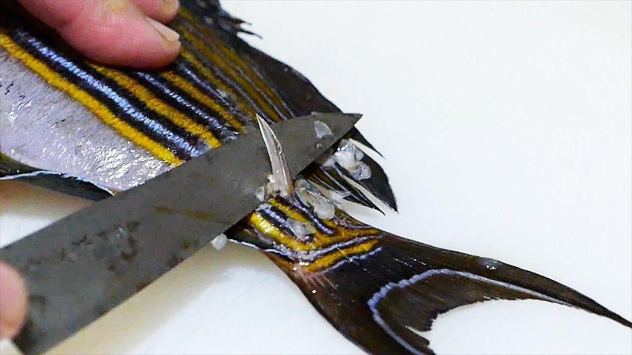 日本人爱吃鱼也是出了名的,小小一条鱼,就有三种不同吃法!