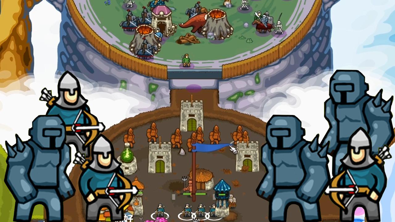 环形帝国2:钢铁魔像搭配远程弩手,无敌的我又翻车了!