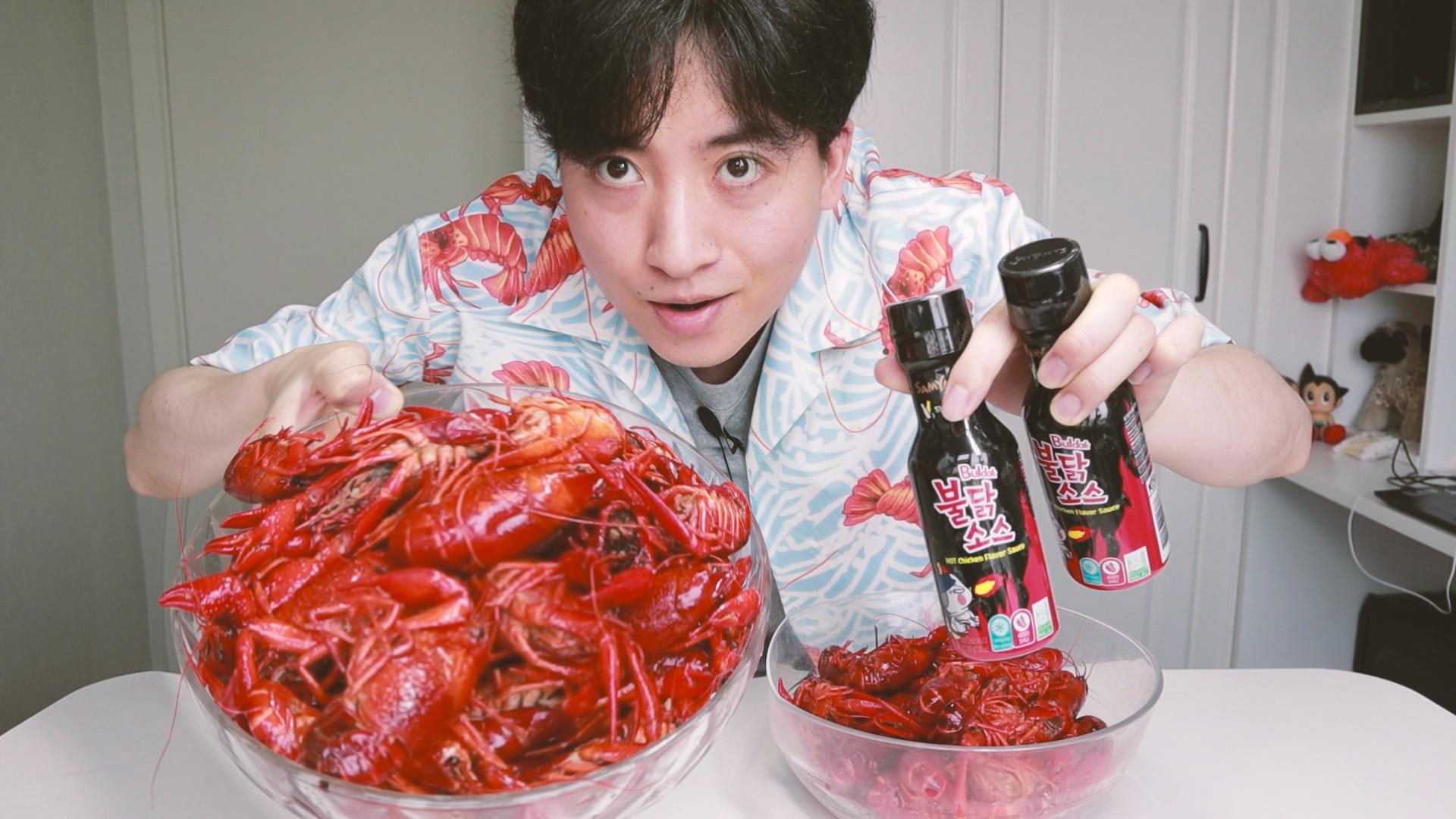 用火鸡面酱烹饪小龙虾会更好吃吗,老伙尝了下后收不住嘴