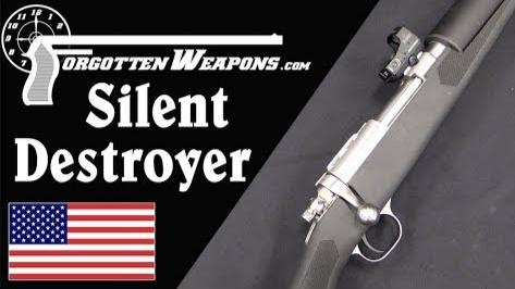 【被遗忘的武器/双语】 无声毁灭者 --消音型M77/44卡宾枪结构分析