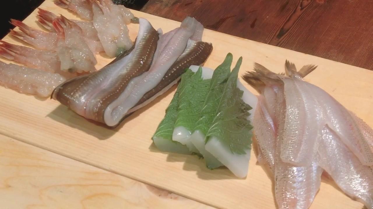 日本天妇罗之神的极致料理:炸虾夹生才好吃,下锅23秒虾肉仅45度!