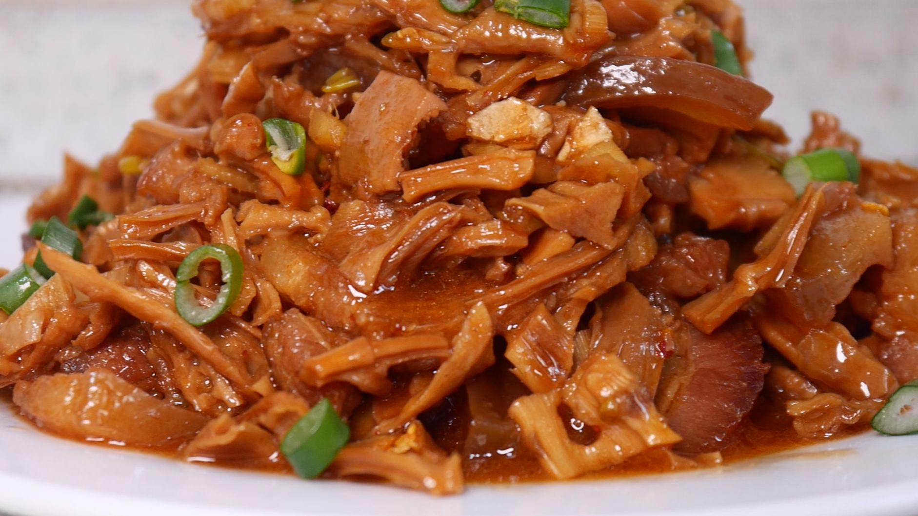 竹笋这样做太好吃了,做法简单,开胃又下饭,光看做法就直流口水