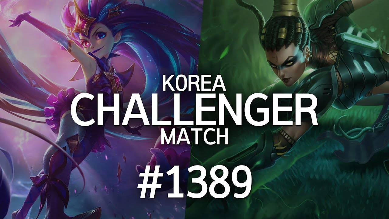 韩服最强王者菁英对决 #1389丨这就是LCK吗 i了i了¿