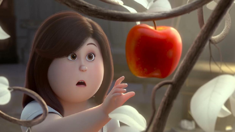 毁童年系列!白雪公主是300斤大胖子,吃下红苹果就能秒变女神