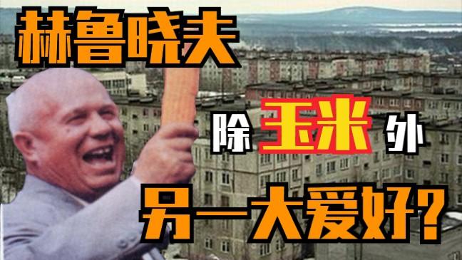 你可知赫鲁晓夫的两大爱好?盘点赫鲁晓夫楼的发展史【我的苏联】