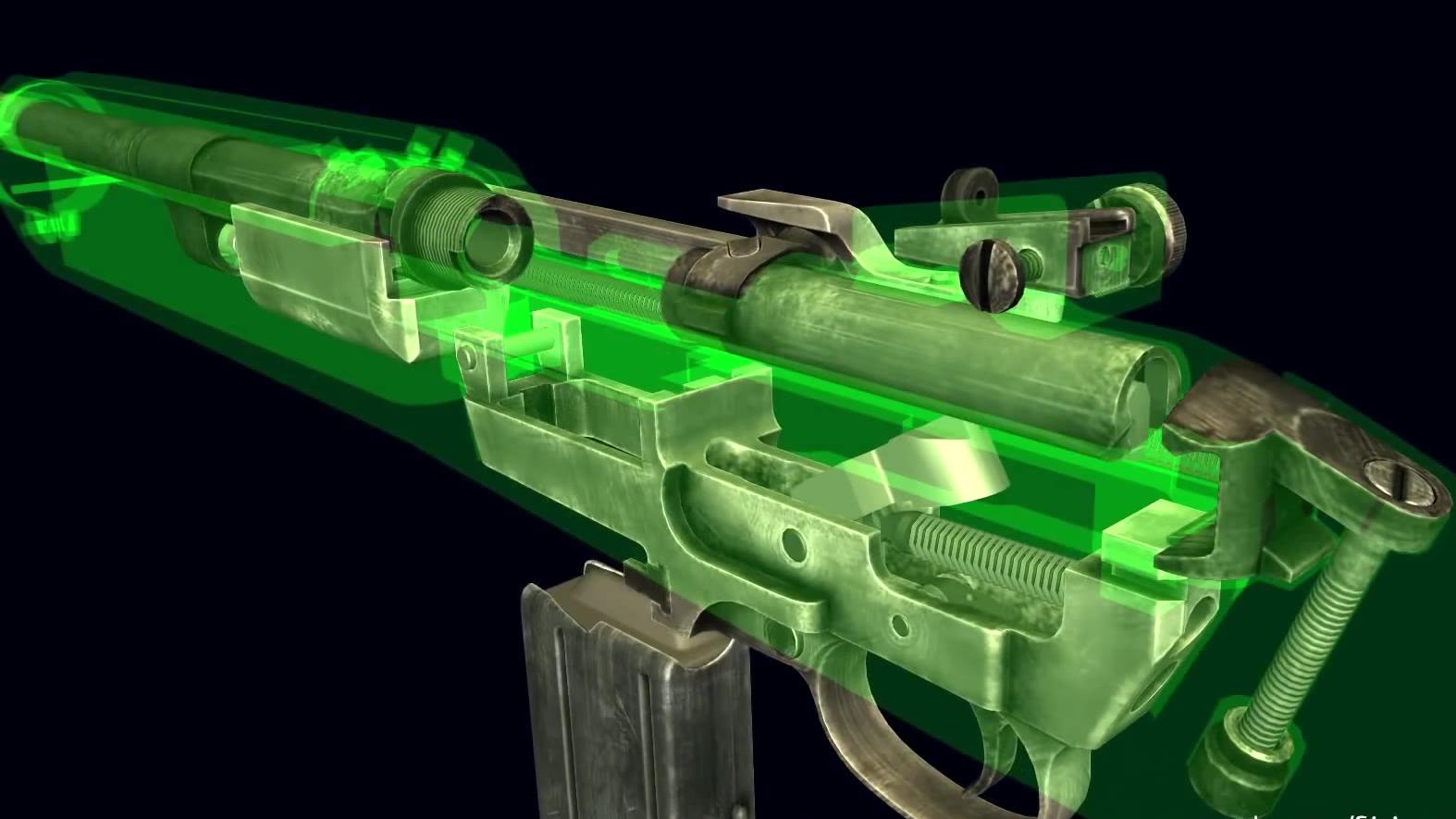 【透视眼】M1 carbine 真铁如何运作?