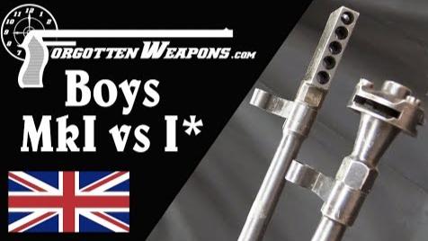 【被遗忘的武器/双语】博伊斯MkI/MkI*反坦克步枪结构对比