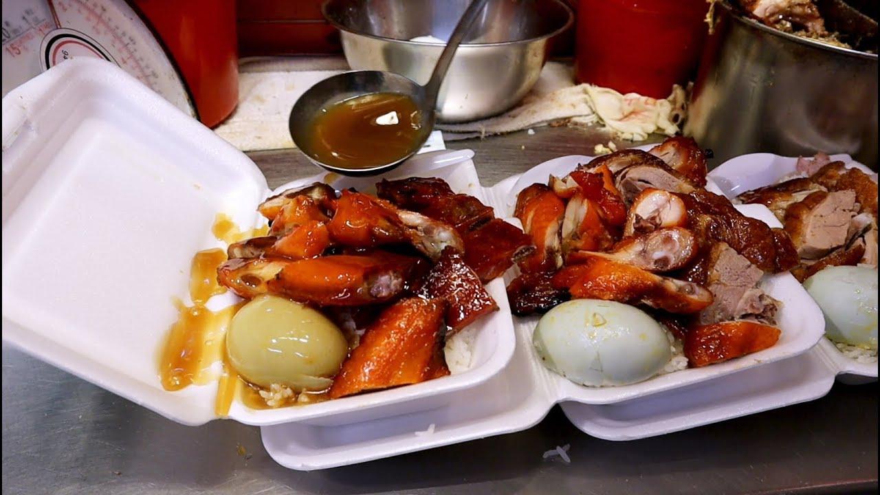 香港烧腊老店,上班族和学生党最爱的快餐,各式烧腊令人垂涎欲滴!