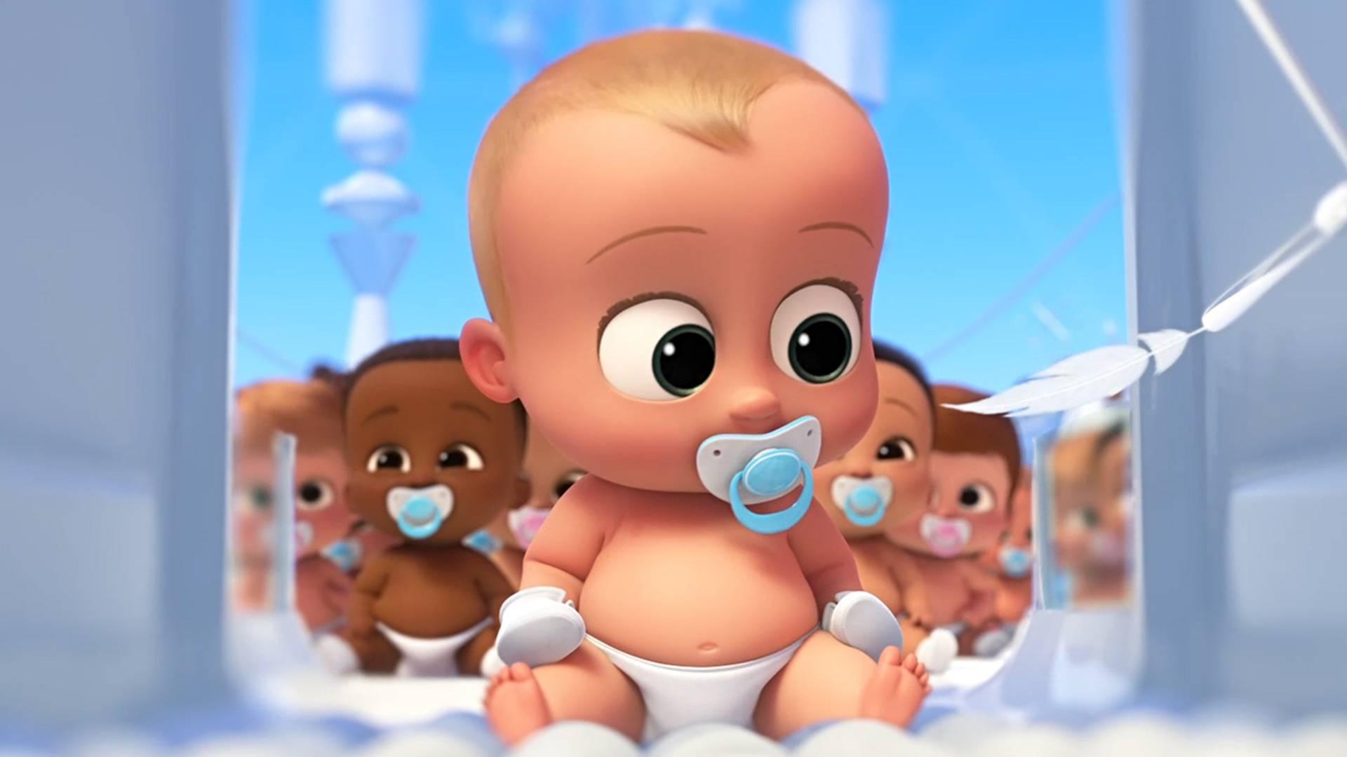 未来世界宝宝在流水线生产,人类不再生小孩,一部搞笑宝宝电影