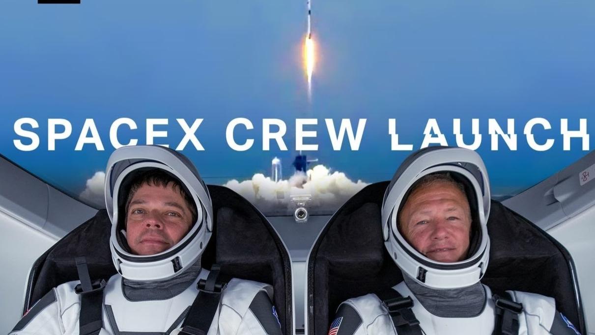 NASA:时隔九年重返太空 有点小激动