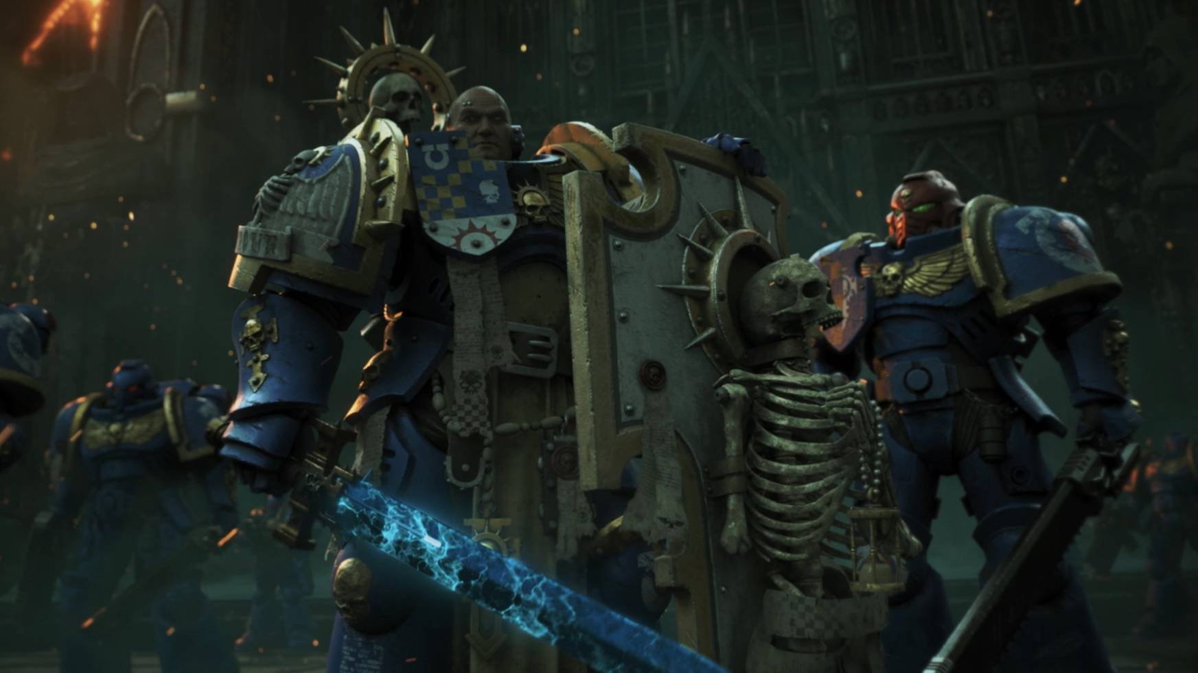 《战锤40K》第九版预告CG动画