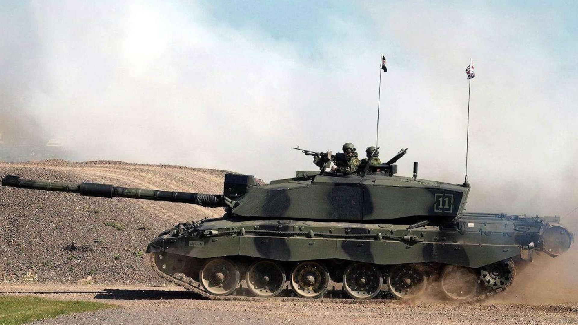 """揭秘英国最强坦克""""挑战者""""Ⅱ,能同时对付两个目标"""