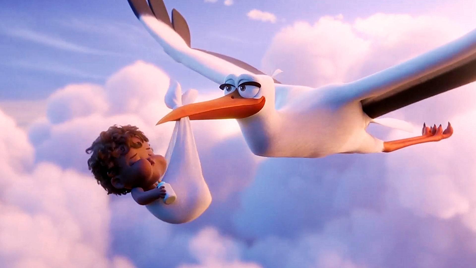 小鸟改行送快递,配送速度比人类都要快,一部搞笑动画电影