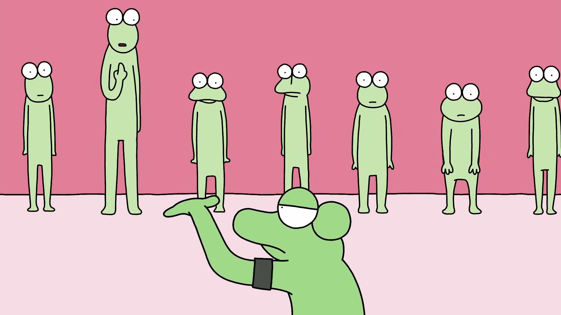 队伍参差不齐怎么办?别担心,交给蛙哥来解决,强迫症人表示很淦