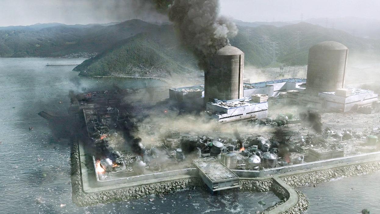地震导致核电站爆炸,核辐射大量泄漏,可怕的灾难发生了!速看灾难电影《潘多拉》