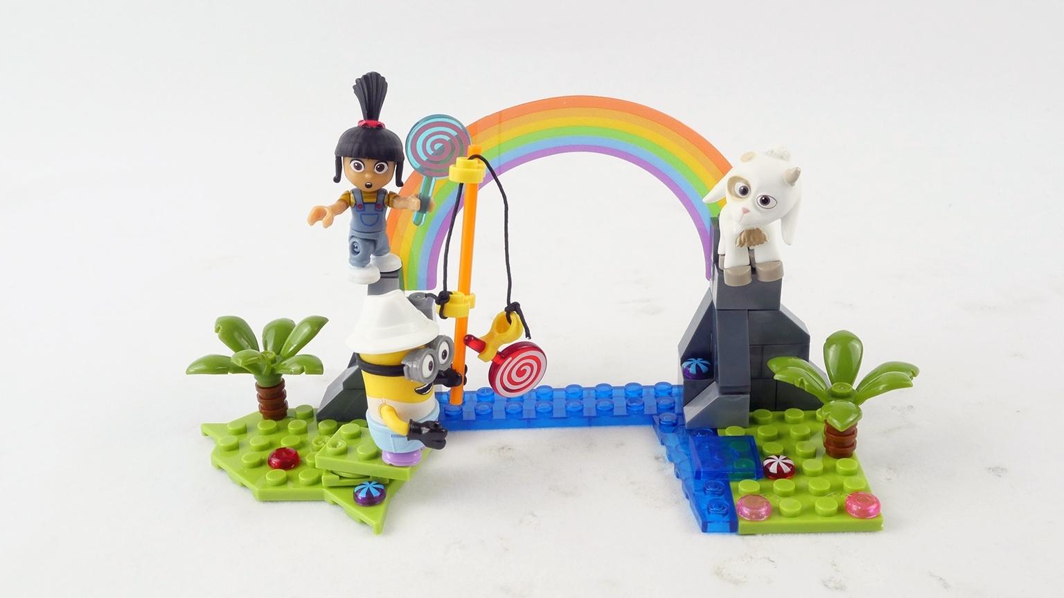 积木搭建:试玩美高积木神偷奶爸系列艾格尼丝的独角兽考察