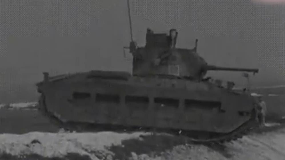 有我过不去的壕沟?玛蒂尔达坦克展示过壕沟失败