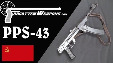 【被遗忘的武器/双语】极简主义价更高--PPS-43冲锋枪结构分析