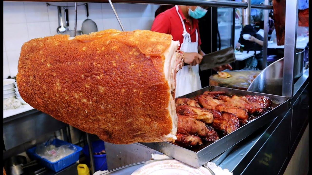 香港街头大叔的烧味盒饭太美味,每天排长队根本卖不过来!