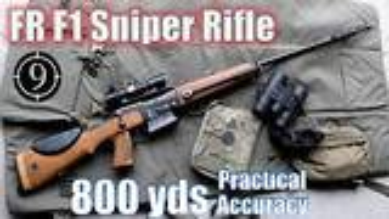 [9-Hole Reviews]FR-F1狙击步枪800码精准射击挑战